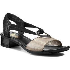 Rzymianki damskie: Sandały RIEKER – 62689-42 Grey