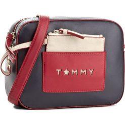 Listonoszki damskie: Torebka TOMMY HILFIGER - Iconic Camera Bag Leather Cb AW0AW04658 901