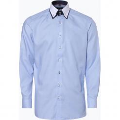 Finshley & Harding - Koszula męska, niebieski. Czarne koszule męskie marki Finshley & Harding, w kratkę. Za 199,95 zł.