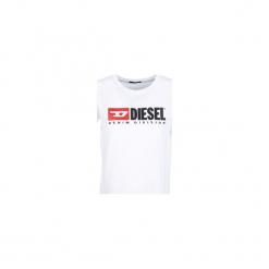 T-shirty z krótkim rękawem Diesel  T JACKY. Białe t-shirty damskie Diesel, l. Za 259,00 zł.