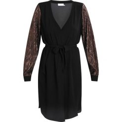 Sukienki hiszpanki: Kaffe FRANCHIS  Sukienka letnia black deep / copper