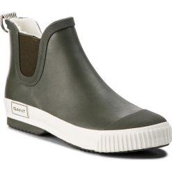 Kalosze GANT - Mandy 17599835 Kalamata Green G732. Zielone buty zimowe damskie marki GANT, z polaru. Za 269,90 zł.