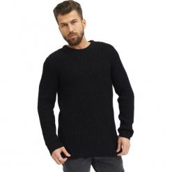 Sweter w kolorze czarnym. Czarne swetry klasyczne męskie marki True Prodigy, l, z okrągłym kołnierzem. W wyprzedaży za 144,95 zł.