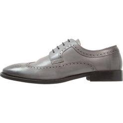 Buty wizytowe męskie: Edwin Wallace Eleganckie buty gris