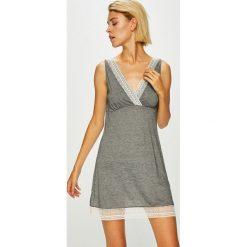 Etam - Kombinezon piżamowy Nalia. Szare piżamy damskie Etam, l, z materiału, z długim rękawem. Za 149,90 zł.
