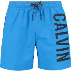 Kąpielówki męskie: Calvin Klein Swimwear MEDIUM DRAWSTRING Szorty kąpielowe electric blue lemonade