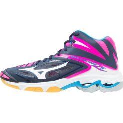 Buty sportowe damskie: Mizuno WAVE LIGHTNING Z3 MID Obuwie do siatkówki peacoat/white/pink glow