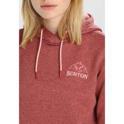 Bluzy rozpinane damskie: Burton OAK  Bluza z kapturem marsala heather