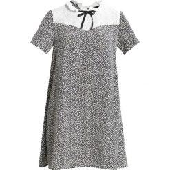 Sukienki hiszpanki: 12 Midnight LACE BIB Sukienka letnia black/white