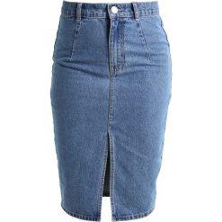 Spódniczki jeansowe: Lost Ink Petite PENCIL SKIRT Spódnica ołówkowa  blue