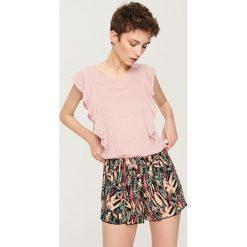 Piżamy damskie: Dwuczęściowa piżama – Brązowy