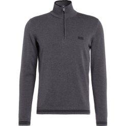 BOSS ATHLEISURE ZIME Sweter mid melange. Niebieskie kardigany męskie marki BOSS Athleisure, m. W wyprzedaży za 347,40 zł.