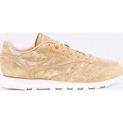 Reebok Classic - Buty Cl Lthr Shimmer. Szare buty sportowe damskie reebok classic Reebok Classic, z gumy. W wyprzedaży za 239,90 zł.