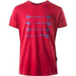 T-shirty chłopięce: Hi-tec Koszulka Skote junior boy czerwona r. 152