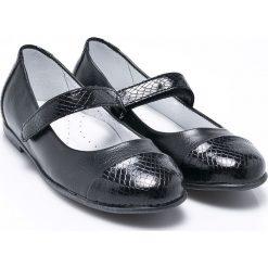 Kornecki - Baleriny dziecięce. Czarne baleriny dziewczęce Kornecki, z gumy. W wyprzedaży za 89,90 zł.