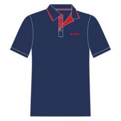 Hi-tec Koszulka męska Polo Site blue print/high risk red r. XXL. Czerwone koszulki polo Hi-tec, m. Za 60,93 zł.
