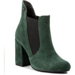 Buty zimowe damskie: Botki MACCIONI - 541 Zielony