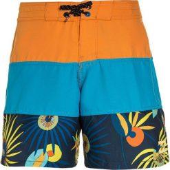 Billabong PRINT  Szorty kąpielowe orange. Brązowe kąpielówki chłopięce marki Billabong, z materiału. Za 209,00 zł.