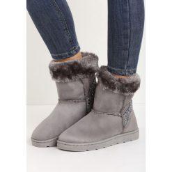 Szare Śniegowce Vanity Fair. Szare buty zimowe damskie Born2be. Za 79,99 zł.