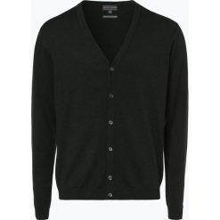 Finshley & Harding - Sweter męski – Pima-Cotton/Kaszmir, zielony. Zielone swetry rozpinane męskie marki Finshley & Harding, m, z bawełny. Za 179,95 zł.