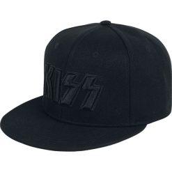 Kiss Black Logo Czapka Snapback czarny. Czarne czapki z daszkiem damskie marki Kiss, l. Za 79,90 zł.