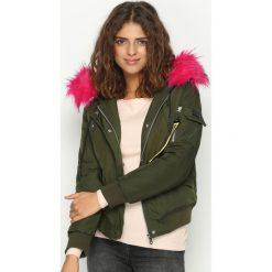 Odzież damska: Khaki Kurtka Premium