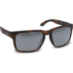 Okulary przeciwsłoneczne OAKLEY - Holbrook Xl OO9417-0259  Matte Brown Tortoise Prizm Black Iridium. Brązowe okulary przeciwsłoneczne damskie aviatory Oakley. W wyprzedaży za 479,00 zł.