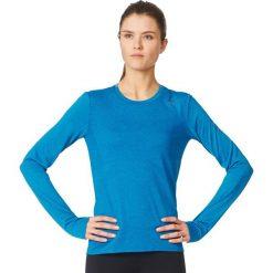 Adidas Koszulka Supernova Long Sleeve Tee Women niebieski r. L (B43381). Szare topy sportowe damskie marki Adidas, l, z dresówki, na jogę i pilates. Za 162,00 zł.
