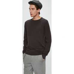 Brave Soul - Sweter. Czarne swetry klasyczne męskie Brave Soul, l, z bawełny, z okrągłym kołnierzem. Za 69,90 zł.