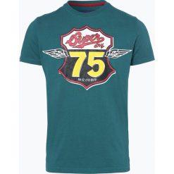 T-shirty męskie z nadrukiem: Superdry - T-shirt męski, zielony