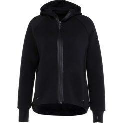 Bluzy damskie: ASICS FULL ZIP HOODIE Bluza rozpinana performance black