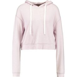 Bluzy damskie: Hollister Co. COZY Bluza z kapturem purple