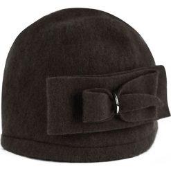 Czapka  damska Podwójny szyk brązowa (cz14337). Brązowe czapki zimowe damskie Art of Polo. Za 54,70 zł.