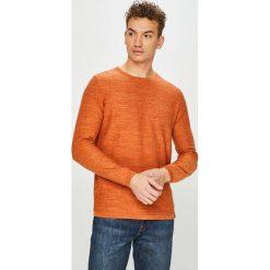Camel Active - Sweter. Brązowe swetry klasyczne męskie marki Camel Active, l, z bawełny, z okrągłym kołnierzem. Za 439,90 zł.