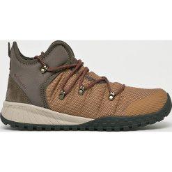 Columbia - Buty Fair Banks. Brązowe buty trekkingowe męskie Columbia, z materiału, na sznurówki, outdoorowe. W wyprzedaży za 429,90 zł.