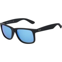 Okulary przeciwsłoneczne męskie: RayBan JUSTIN Okulary przeciwsłoneczne black/blue