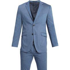Pier One Garnitur mottled blue. Niebieskie garnitury Pier One, z elastanu. Za 419,00 zł.