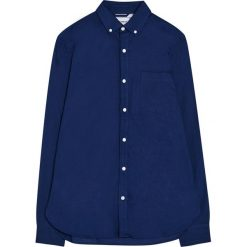 Koszula oxford z długim rękawem. Zielone koszule męskie na spinki Pull&Bear, m, z długim rękawem. Za 79,90 zł.