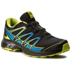 Buty sportowe damskie: Buty SALOMON - Wings Flyte 2 Gtx GORE-TEX 390301 27 W0 Black/Bright Blue/Gecko Green