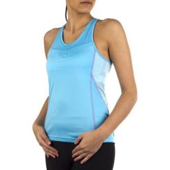 Salomon Koszulka damska Start Impact Tank niebieska r. L (L35933100). Czarne topy sportowe damskie marki Salomon, z gore-texu, na sznurówki, outdoorowe, gore-tex. Za 118,99 zł.