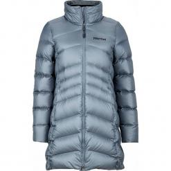Płaszcz puchowy w kolorze błękitnym. Szare płaszcze damskie puchowe marki bonprix. W wyprzedaży za 591,95 zł.