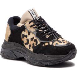 Sneakersy BRONX - 66167-CN BX 1525 Black/Leopard. Brązowe sneakersy damskie Bronx, z materiału. W wyprzedaży za 419,00 zł.