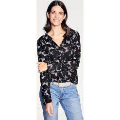 Odzież damska: Bluzka w kolorze czarnym ze wzorem
