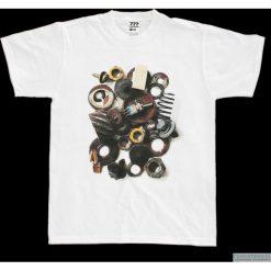 Koszulka T-STEAMPUNK. Czarne t-shirty męskie marki Pakamera, m, z kapturem. Za 77,00 zł.