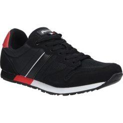 Czarne buty sportowe sznurowane American FH17014. Czarne halówki męskie American. Za 89,99 zł.