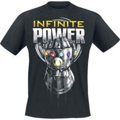 T-shirty męskie z nadrukiem: Avengers Infinity War – Infinite Power T-Shirt czarny