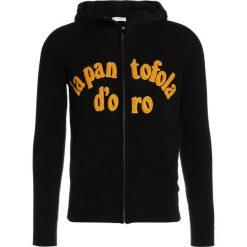 Swetry klasyczne męskie: Pantofola d`Oro MAGLIA ZIP CAPPUCCIO Sweter nero