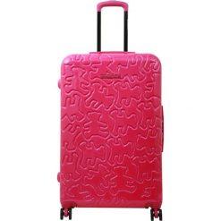 Walizki: Walizka w kolorze różowym – (S)46 x (W)75 x (G)31 cm