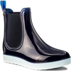 Kalosze GIOSEPPO - Godin 36820-03 Navy. Niebieskie buty zimowe damskie Gioseppo, z materiału. Za 159,00 zł.