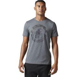 Reebok Koszulka Spin Tee szara r. M (BK5227). Pomarańczowe koszulki sportowe męskie marki Reebok, z dzianiny, sportowe. Za 78,09 zł.